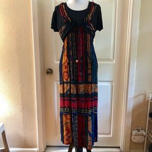 Vintage Carole Little Maxi Dress